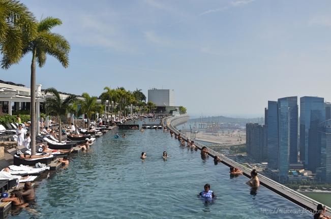 Infinity_Pool_Singapur; Reiseguide Singapur; Sehenswürdigkeiten Singapur, 3 Tage Singapur; https://testbeautyblog.com