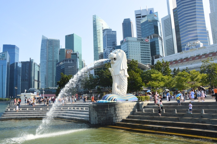 Merlion_Singapur; Reiseguide Singapur; Sehenswürdigkeiten Singapur, 3 Tage Singapur; https://testbeautyblog.com