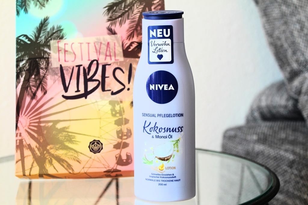 Nivea Sensuell Pflegelotion Kokosnuss & Monoi Öl