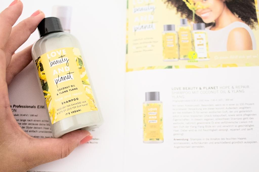 LOVE BEAUTY & PLANET HOPE & REPAIR SHAMPOO (PROBE) for damaged hair