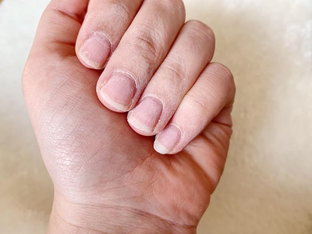 Neo Nails Anwendung, Hand