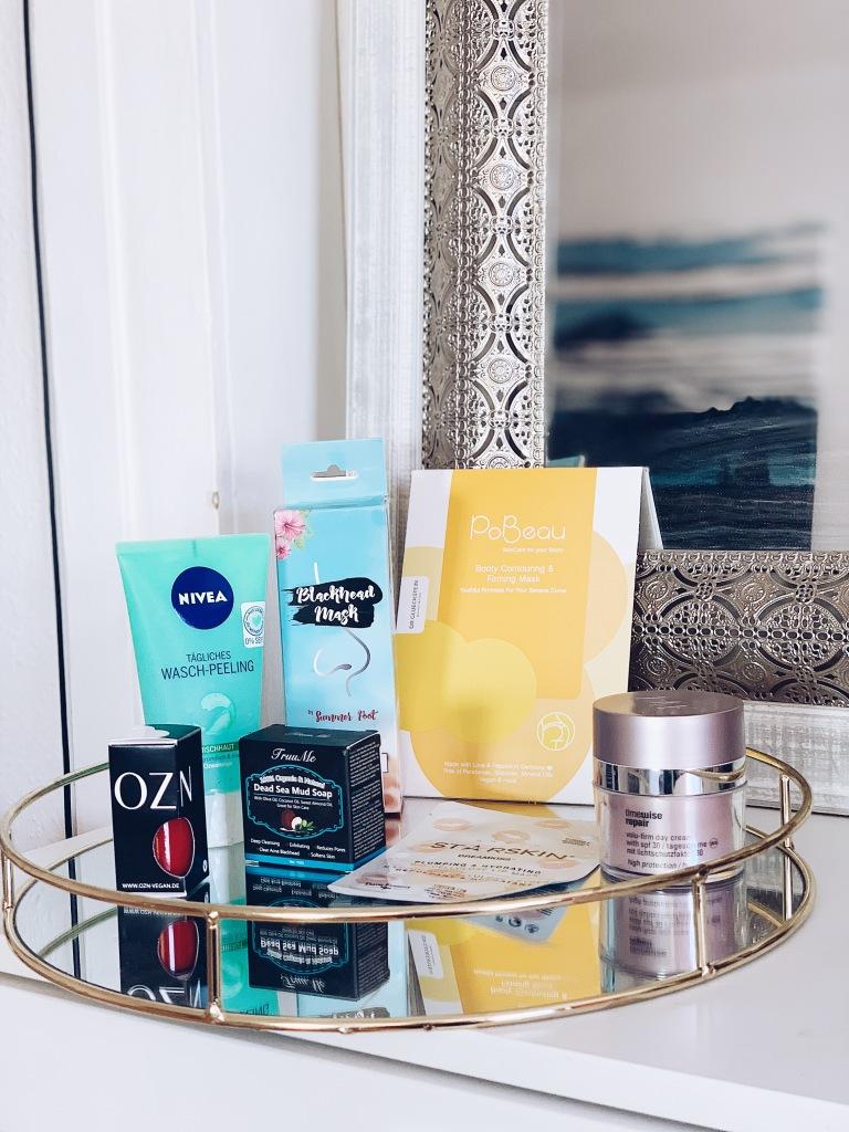 Produkte verschiedener Marken zum Verlosen aus dem Bereich Beauty