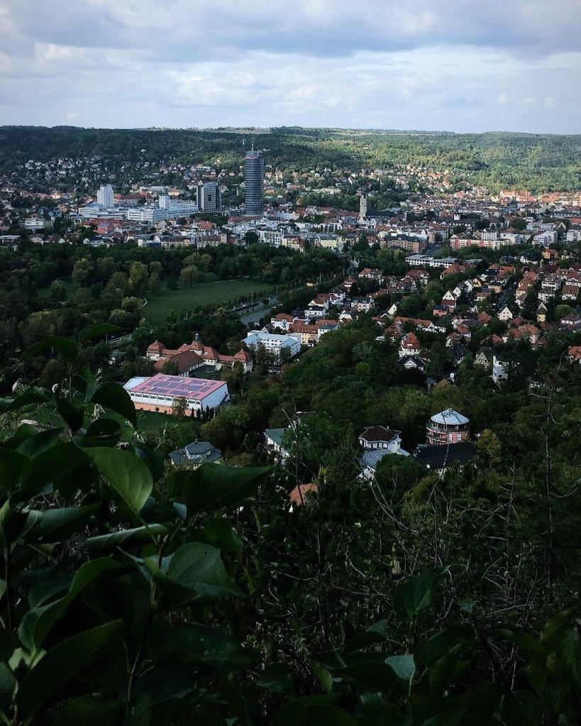 Sicht auf Jena