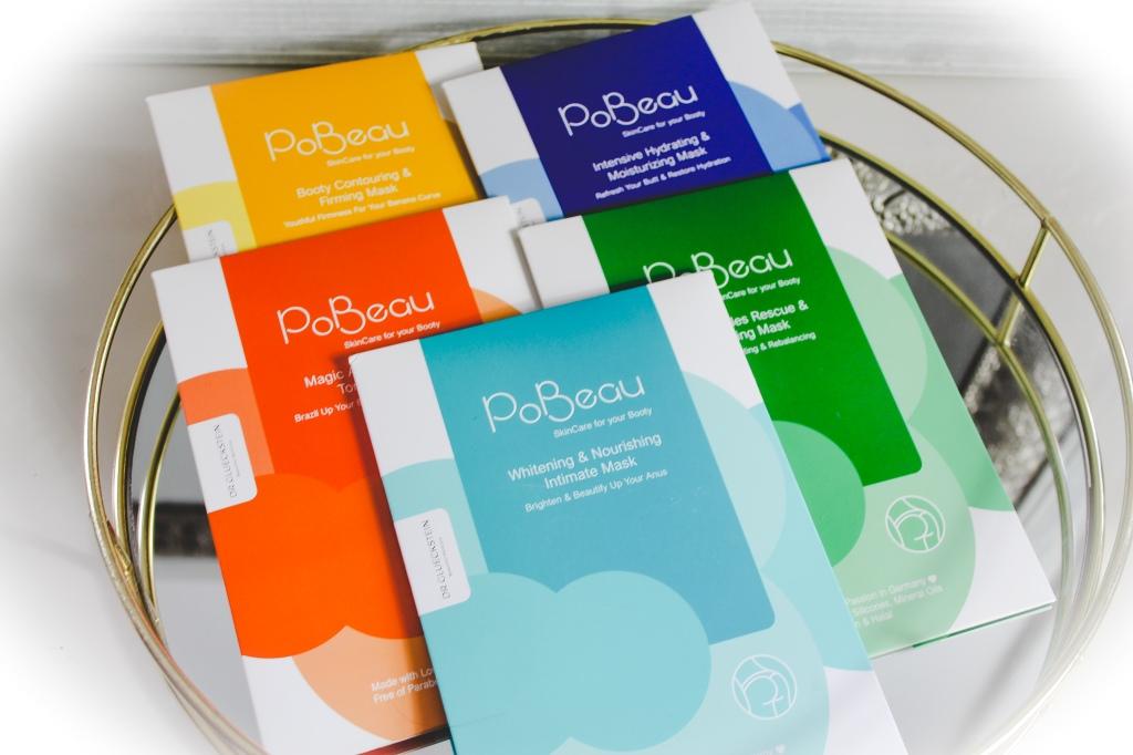 PoBeau: 5 innovative Masken für den Po von Dr. Glueckstein